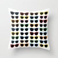 Sunglasses #2 Throw Pillow