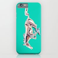 vintage teal Mustang .... iPhone 6 Slim Case
