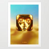 C-3PO Art Print