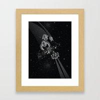 Intergalactic Pest Contr… Framed Art Print