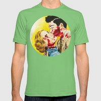 Eternal love Mens Fitted Tee Grass SMALL