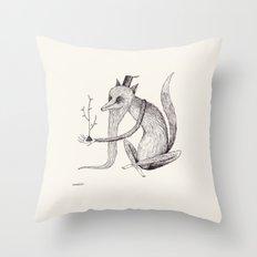 'Waiting' Throw Pillow