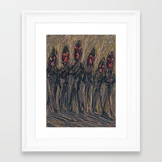 HASHISHIN Framed Art Print