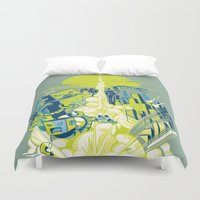Smash! Zap!! Zooom!! - Annoying Kidd Duvet Cover