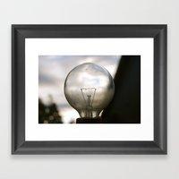 Light Up My World Framed Art Print