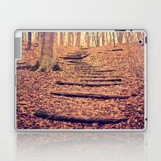 Path in the Woods Laptop & iPad Skin