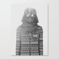 The Most Stylish Couple in Galactic 1 Canvas Print