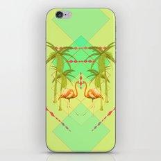 go flamingo, go ! iPhone & iPod Skin