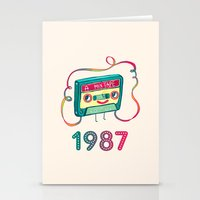 1987 Stationery Cards