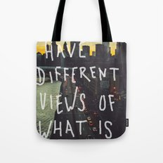 Different Views Tote Bag