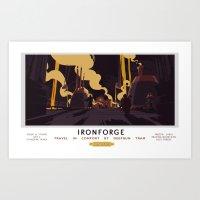 Ironforge Classic Rail P… Art Print