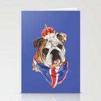 JUBILEE ENGLISH BULLDOG … Stationery Cards