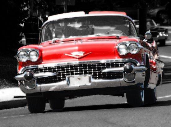 Red, Car Art Print