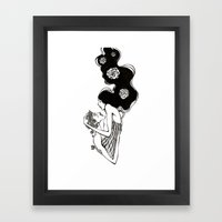 after that long kiss I near lost my breath Framed Art Print