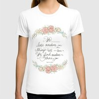 Lose Yourself Womens Fitted Tee White SMALL