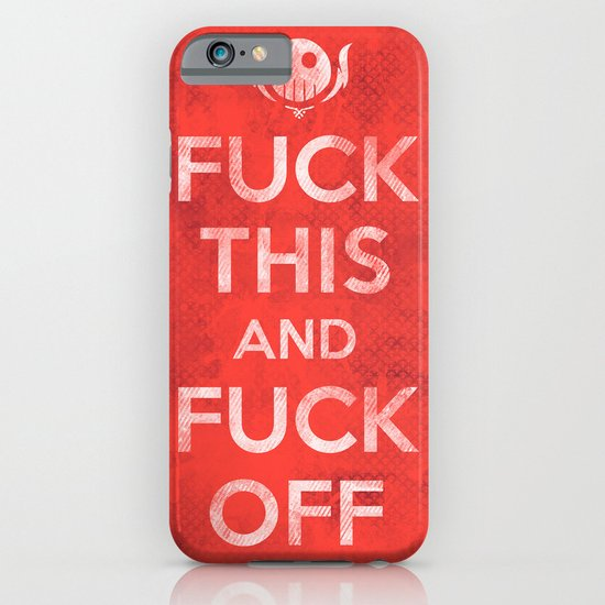 Public Service Announcement iPhone & iPod Case