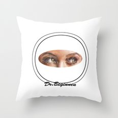 A BLACK BEAUTY     By Davy Wong Throw Pillow