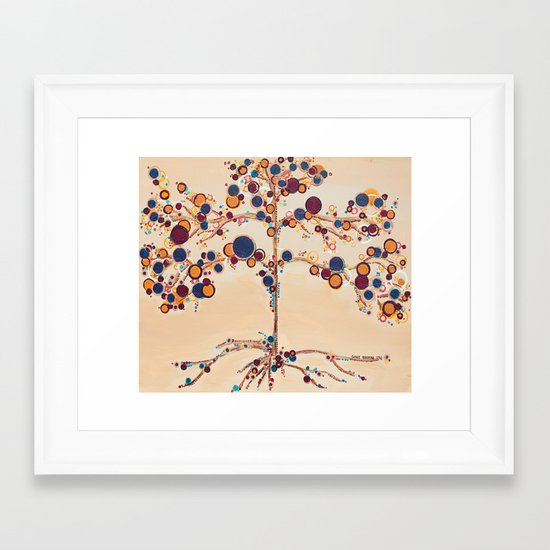 :: Family Tree :: Framed Art Print