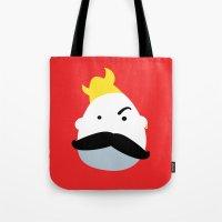 Moustache Viking Tote Bag