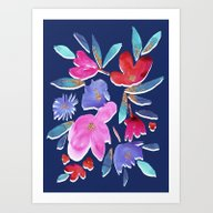 Art Print featuring LeiLani Flower Bright On… by Crystal ★ Walen