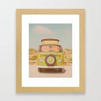 Let's Ride Through Europ… Framed Art Print
