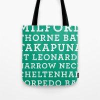 Life's a beach - Emerald Tote Bag