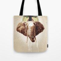 Glue Network Print Serie… Tote Bag