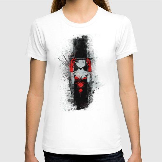 Top Hat Lady T-shirt