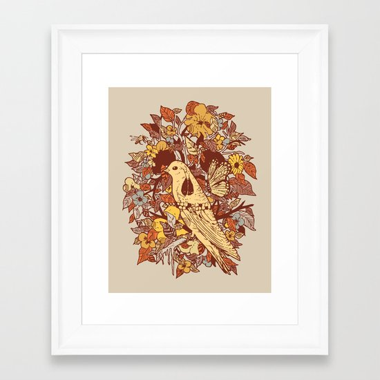 Strange and Beautiful Framed Art Print