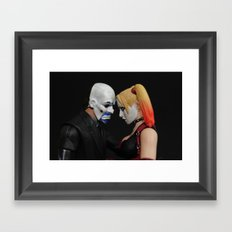 A Private Moment Framed Art Print
