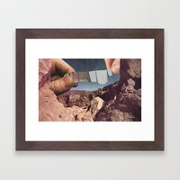 Hang Me Out To Dry Framed Art Print