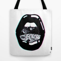 Space Lips Tote Bag