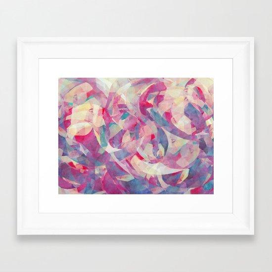 Knowing Glance Framed Art Print