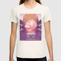 BIONIC WOMAN Womens Fitted Tee Natural SMALL