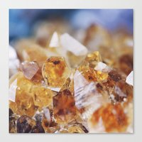 Citrine Light Canvas Print