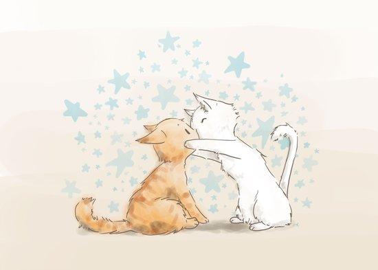 When We Kiss, I See Stars Canvas Print
