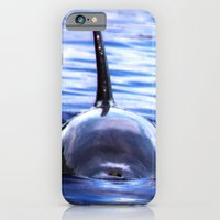 iPhone Cases featuring Fins Up 2 by Roger Wedegis