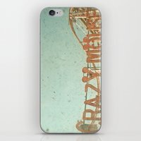 Crazy Mouse iPhone & iPod Skin