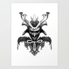 Samurai XYZ Art Print