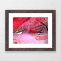 Coxyababyr Framed Art Print