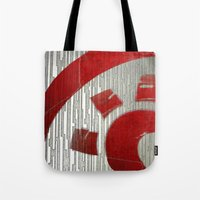 Red Sun Tote Bag