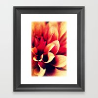 Touch me! Framed Art Print