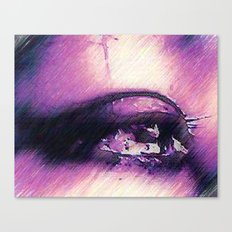 Tears - Pencil Drawing Canvas Print