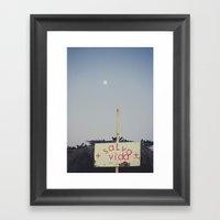 Salva Vida Framed Art Print