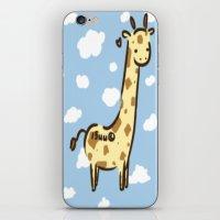 Girafffeee iPhone & iPod Skin