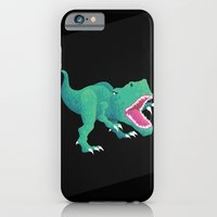 iPhone & iPod Case featuring Dinosaur by Flame