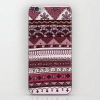 Yzor pattern 004 lilac iPhone & iPod Skin