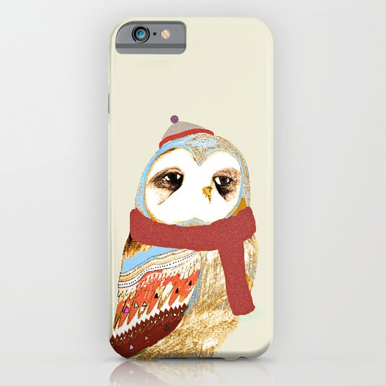 Lovely Owl iPhone & iPod Case