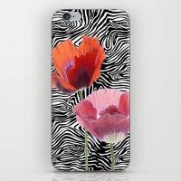 floral bar  iPhone & iPod Skin
