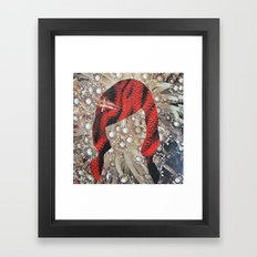 coral freek Framed Art Print